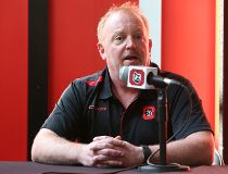 Ottawa 67's governor and OSEG partner Jeff Hunt speaks at a press conference at TD place on Wednesday, Sept. 23, 2015. (Chris Hofley/Ottawa Sun).