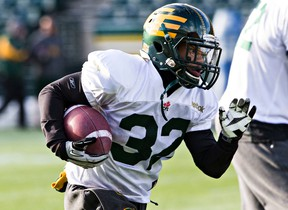 Free agent running back/receiver/returner Kendial Lawrence signed with the Roughriders on Wednesday, Feb. 10, 2016. (Codie McLachlan/Postmedia Network/Files)