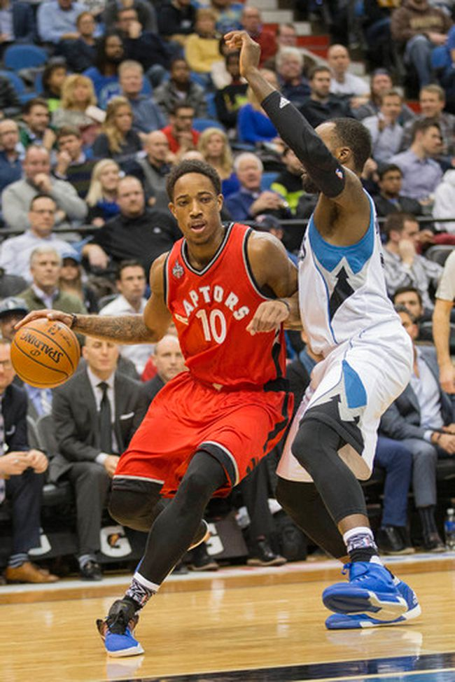 DeMar DeRozan Feb. 10/16