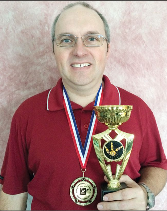Ian Sylvester is no stranger to earning medals and trophies for bowling. (SUPPLIED PHOTO)