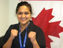 Carmel Rouhani, 29, earned a bronze medal at the 2010 World Karate and Kickboxing Commission World Championships while operating Fusion Martial Arts in North Bay. Nugget File Photo