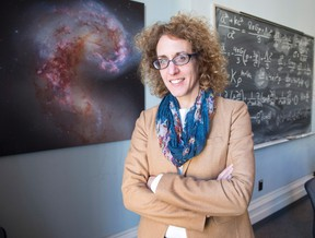 The director of the new McGill University Space Institute, Victoria Kaspi, poses for a photo in Montreal on October 30, 2015. THE CANADIAN PRESS/Ryan Remiorz
