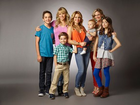 The cast of Fuller House. (Handout photo)