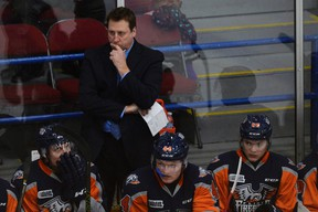 Firebirds interim head coach Joe Stefan said, ?I am doing this for the players and the OHL.? (Rachel Woolf, Special the Postmedia News)