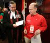 Dror Bar-Natan becomes a Canadian citizen and then recants the mandatory Oath of Allegiance to the Queen  on Monday November 30, 2015. Craig Robertson/Postmedia Network