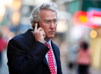 Chief Executive Officer, Chairman, and co-founder of Chesapeake Energy Corporation Aubrey McClendon walks through the French Quarter in New Orleans, Louisiana, in this March 26, 2012 file photo. To match Exclusive SANDRIDGE-CONTRACT/REUTERS/Sean Gardner/F