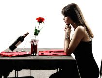 Getting stood up, dating, alone
