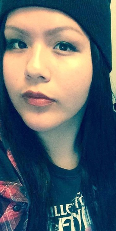 The search for 16-year-old Delaine Copenace continues. She has not been seen or heard from since around 6 p.m. on Saturday, Feb. 27. SUPPLIED