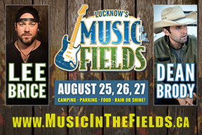 Lucknow Music in the Fields is to be held Aug. 25-27. SUBMITTED