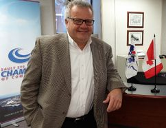 Chamber of Commerce Executive Director Rory Ring is ready to lead the Sault Ste. Marie business community.