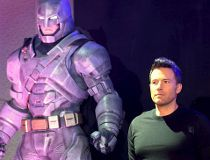 "Ben Affleck attends a news conference of the movie ""Batman v Superman: Dawn Of Justice"""