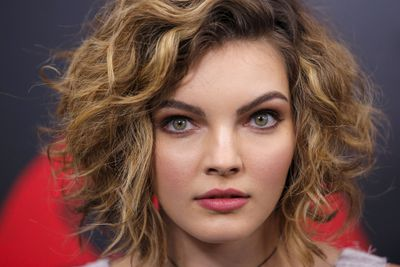 Actress Camren Bicondova attends New York premiere