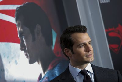 Cast member Henry Cavill attends New York premiere of