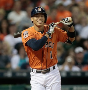 It didn't take Carlos Correa long to establish himself as the shortstop to own in fantasy circles last year. (AFP)