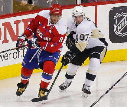 Sidney Crosby Alex Ovechkin FILES March 22/16