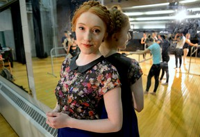 Ballet Jorgen principal dancer Hannah Mae Cruddas will perform the Lilac Fairy in Sleeping Beauty Thursday at the Grand Theatre in London. (MORRIS LAMONT, The London Free Press)