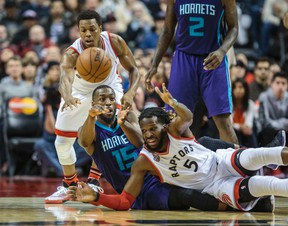 The Raptors are in big trouble if Kyle Lowry joins DeMarre Carroll on the injured list. Lowry's elbow has been bothering him. TORONTO SUN