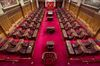 The Senate chamber on Parliament Hill is shown in a May 28, 2013 photo. (THE CANADIAN PRESS/Adrian Wyld)