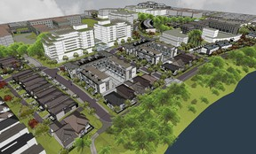 The Regional Group and eQ Homes will launch Greystone Village, a master-planned community that's part of the long-awaited Oblate lands redevelopment on Main Street.