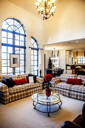 Jeffery Homes was last year's small volume Builder of the Year. Seen here is one of their model homes.