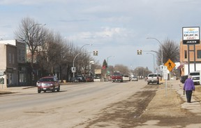 Carman's Main Street South took top spot in the CAA Worst Roads contest. And Main Street North wasn't that far behind finishing in fifth place. (FILE/CARMAN VALLEY LEADER)