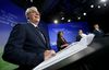 NDP Leader Greg Selinger, left to right, Liberal Leader Rana Bokhari, Green Party Leader James Beddome and Progressive Conservative Leader Brian Pallister take part in the provincial leaders' debate in Winnipeg on Tuesday, April 12, 2016. THE CANADIAN PRESS/Trevor Hagan