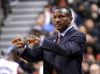 Toronto Raptors head coach Dwane Casey gestures to his players in the second half of a 122-98 win over Philadelphia 76ers at Air Canada Centre in Toronto on April 12, 2016. (Dan Hamilton/USA TODAY Sports)