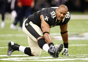 Former Saints defensive end Will Smith was shot eight times and killed last weekend. (Bill Haber/AP Photo/File)