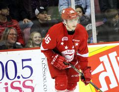 Soo Greyhounds centre Morgan Frost (File Photo)