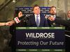 Wildrose leader Brian Jean reacts to the Alberta budget on Thursday, April 14, 2016.