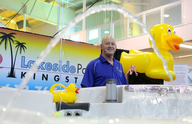 Sunny days for home show the community press for Pool and spa show 2016