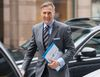 Conservative MP Maxime Bernier arrives outside the offices of the Conservative Party of Canada as he officially launches his bid for the leadership of the party, on Thursday, April 7, 2016 in Ottawa. THE CANADIAN PRESS/Justin Tang
