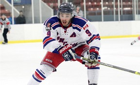 Ted Hunt, who just finished his fourth season in the Ontario Junior Hockey League, has committed to play for the Queen's Gaels beginning with the 2016-17 season. (OJHL Images)