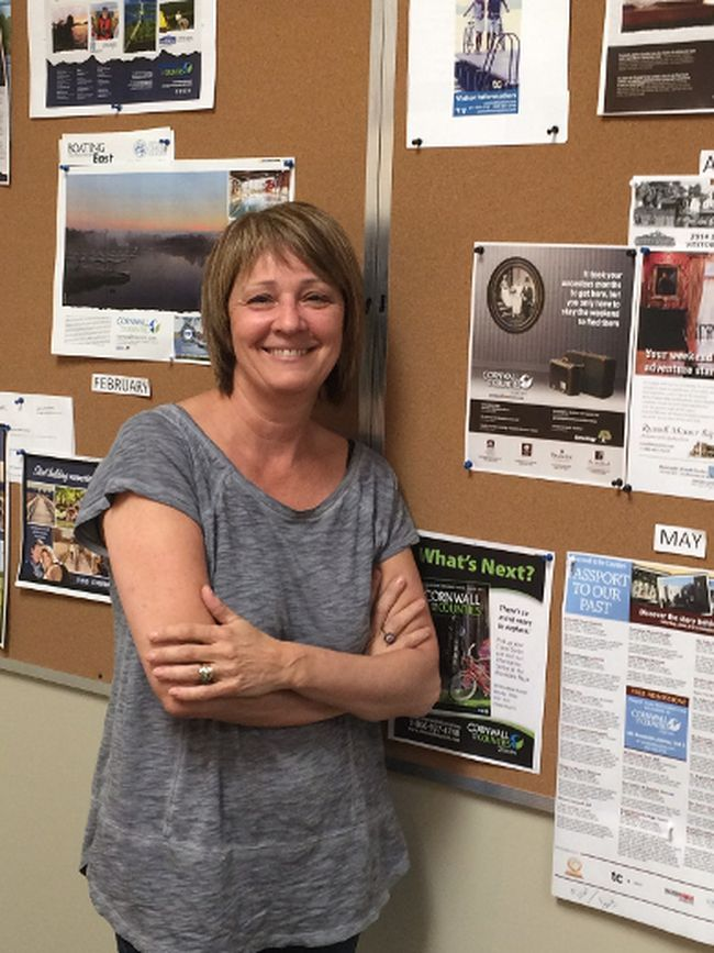 <p>Linda Wilson, executive director of Cornwall and Counties Tourism, said she feels sympathy for the small businesses in SDG that won't get to promote their businesses if the United Counties of SDG pull their funding from the tourism group. Cam Kennedy/Special to the Cornwall Standard-Freeholder/Postmedia Network