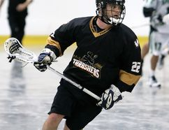 Shane Morlock of the Wallaceburg Thrashers. (MARK MALONE/The Daily News)