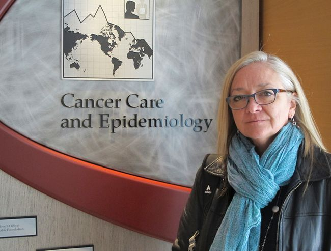 Dr. Kristan Aronson, a researcher in Division of Cancer Care and Epidemiology at the Cancer Research Institute of Queen's University. (Kelsey Curtis/The Whig-Standard)