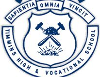 Timmins High & Vocational School logo