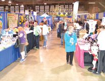 File photo A large number of people attended last year's Elliot Lake Trade Show at the Centennial Arena.