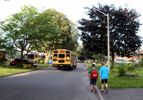 """The OTSA is encouraging students to use """"any form of human-powered transportation"""" to get to school. Tony Caldwell/Postmedia Network"""