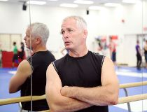 Canadian Olympic wrestling coach Marty Calder