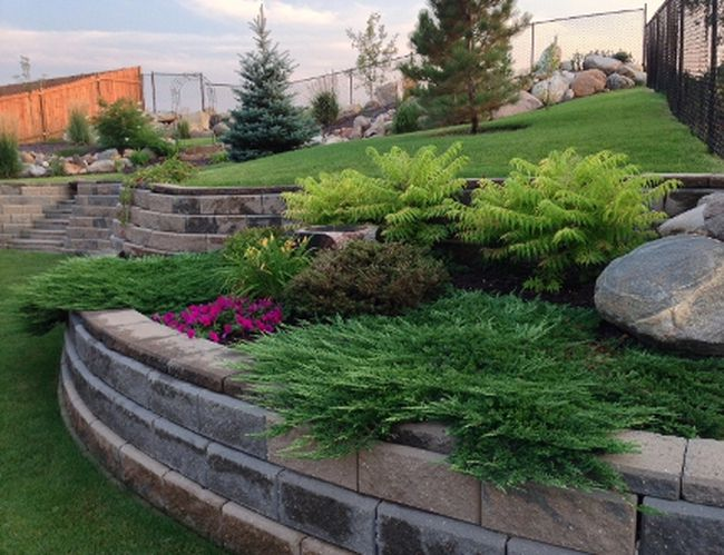 Sara and Dennis Stoesz are 2015's Burgess Shield winners for the most beautiful yard in an urban centre, population 7,501+. (Supplied Photo)