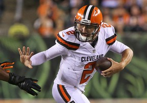 Johnny Manziel was indicted earlier this week in Dallas on a domestic-abuse assault misdemeanour. (Aaron Doster/USA TODAY Sports/Files)