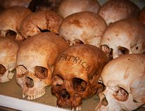Mary Katherine Keown/The Sudbury Star Skulls on display at Nyamata church remind visitors of the horrors of the genocide. More than 10,000 people were killed inside the church in early April 1994.