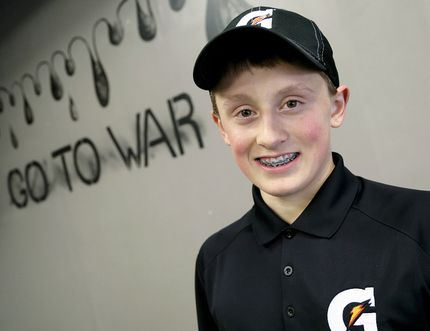 Bryar Dittmer of Chatham will attend an invitation-only camp hosted by Gatorade for hockey players who have overcome the odds to be successful. (MARK MALONE/The Daily News)