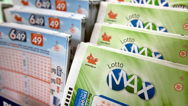 Winning $26 million Lotto Max jackpot ticket sold in Ontario
