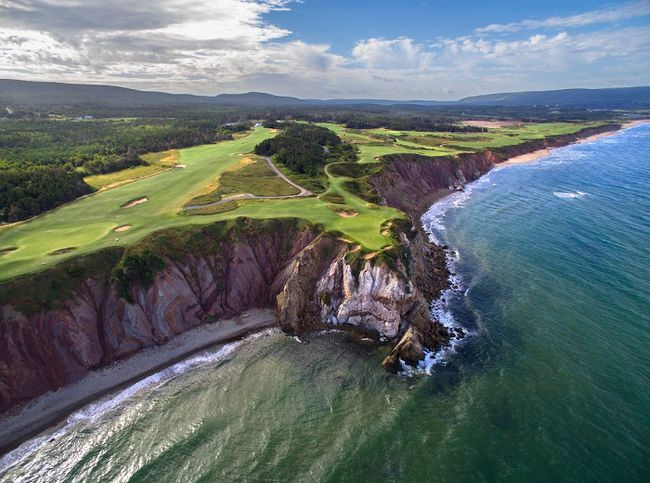 With Cabot Cliffs Links At Brunello Fox Harb R And Cabot