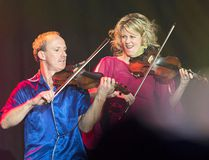 Natalie MacMaster and husband Donnell Leahy perform at the 2016 East Coast Music Awards Gala in Sydney, N.S. on April 14. The two will be performing at the St. Clair College Capitol Theatre in Chatham on May 12 (THE CANADIAN PRESS/Andrew Vaughan)
