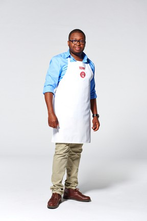 Edmonton's Terry Adido was the latest home cook to be sent home from the MasterChef Canada kitchen. (Courtesy of CTV)