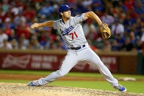 Los Angeles Dodgers pitcher Josh Ravin has been suspended for 80 games after failing a drug test. (Sarah Crabill/Getty Images/AFP)
