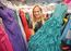 Volunteer Laura Wittig displays some of the grad dresses at Gowns for Grads in Winnipeg, Man. Monday May 02, 2016. Brian Donogh/Winnipeg Sun/Postmedia Network